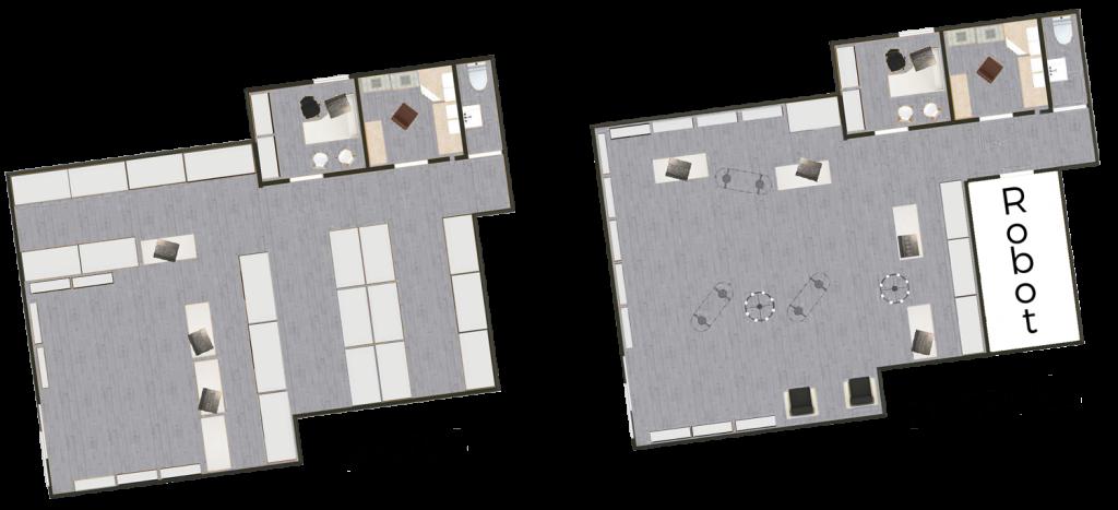 Optimización de espacio para Robot de Farmacia