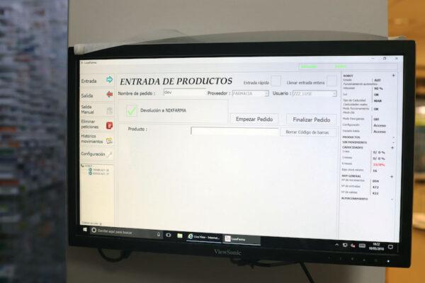 Software para robot de farmacia
